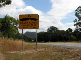 Sur les routes d'Australie, risque d'accidents